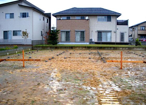 【10/24】県産材を用いた地盤改良・施工見学会 第4回